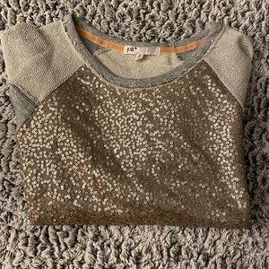 Jolt sequence raglan sweatshirt